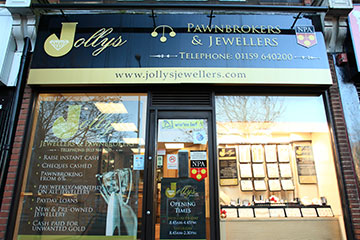 Visit Jollys Jewellers in Hucknall for Fine Jewellery and Professional Jewellery Services