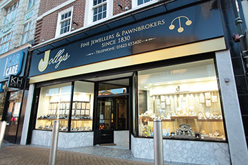 Visit Jollys Jewellers in Mansfield for Vintage, Antique & New Jewellery.