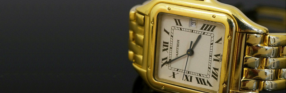 18Carat Yellow Gold Cartier Panthere Unisex Watch