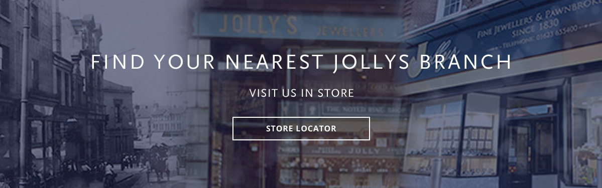 Discover your nearest Jollys Jewellers Branch. We're local to Mansfield, Nottingham, Hucknall, Worksop & Ilkeston.