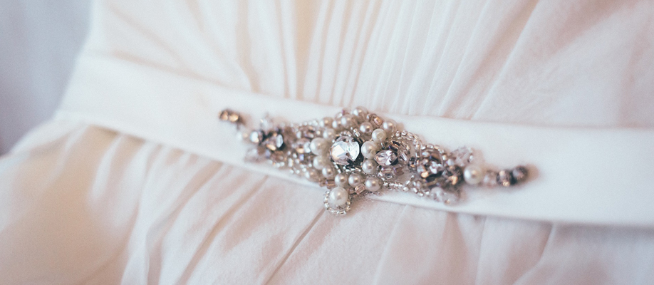 Reuse Inherited Jewellery to create a new Bridal accessory