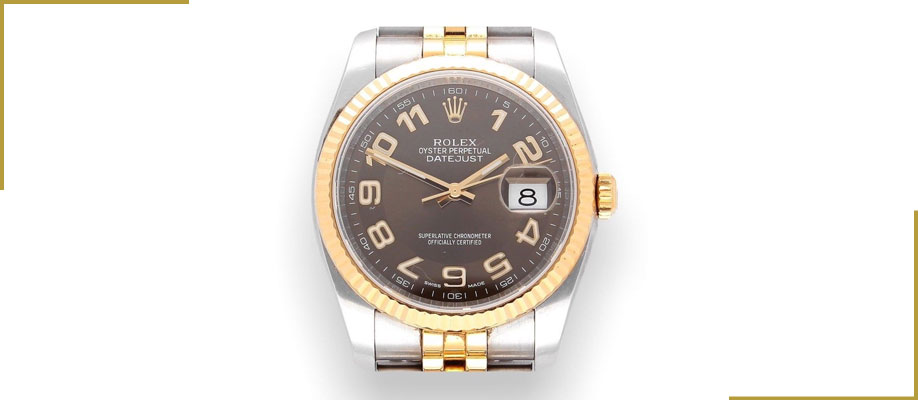 Rolex Datejust Steel & 18K 36mm 116233 Chocolate Dial 2010 – Perfect Condition