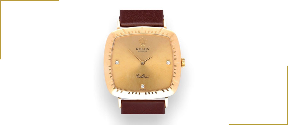 Vintage 18Carat Gold Rolex Ladies Cellini Watch 4084 – 1995 Perfect Condition