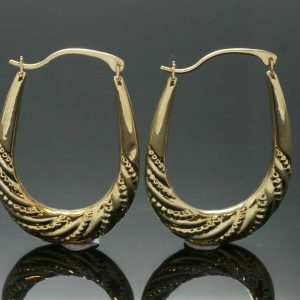 9Ct-Yellow-Gold-Patterned-Hoop-Earrings-21x29mm-272273023600
