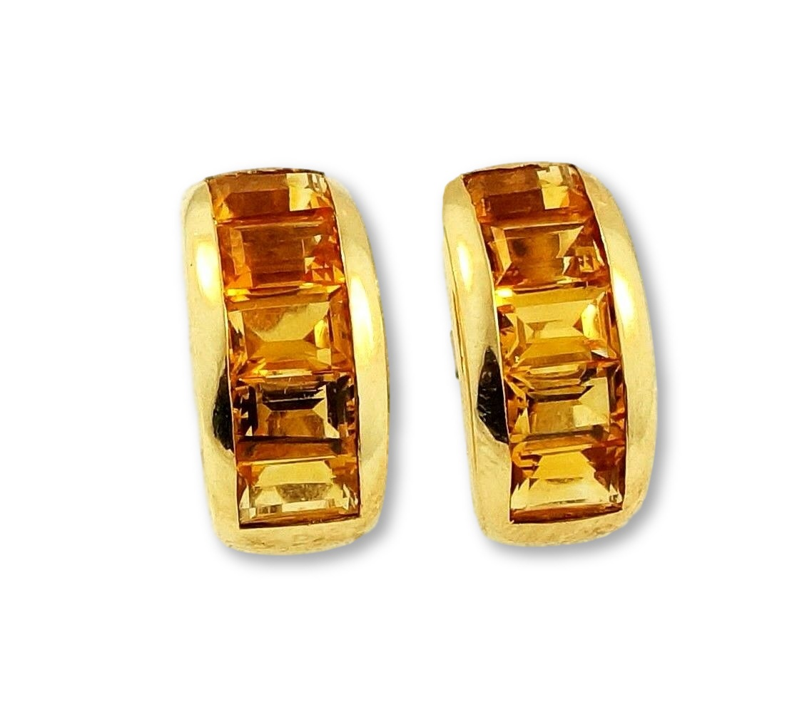 earrings citrine pandora jewelry droplets november en us stud