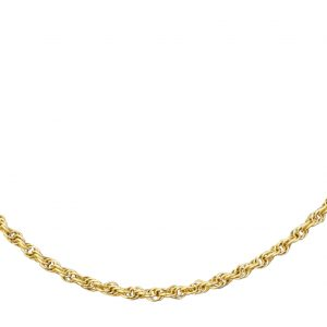 9Carat-Yellow-Gold-18-Helix-Necklace-3mm-Wide-282547351872