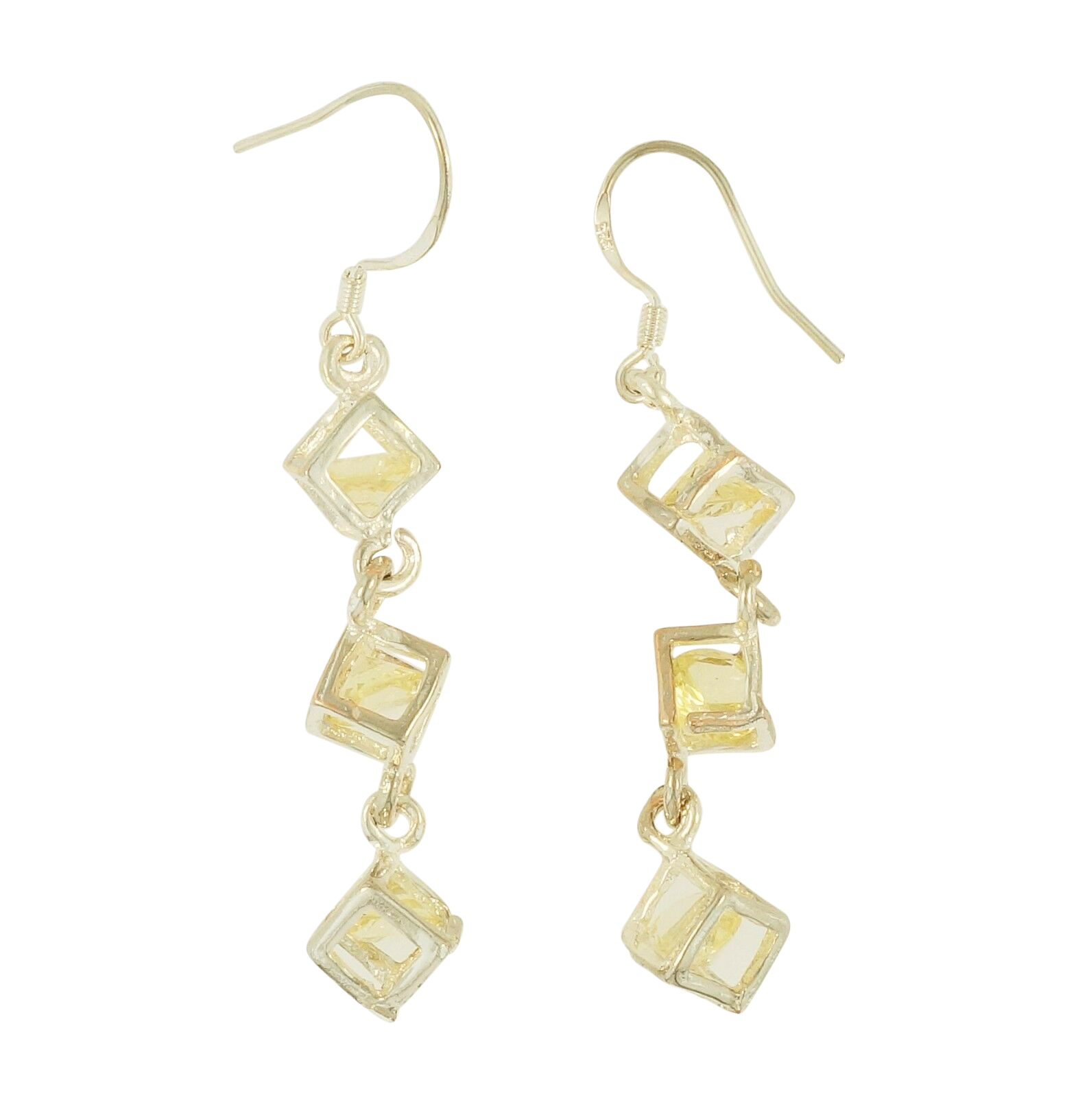 lyst minkoff bar stud metallic long gallery rebecca goldcrystal earrings in product jewelry