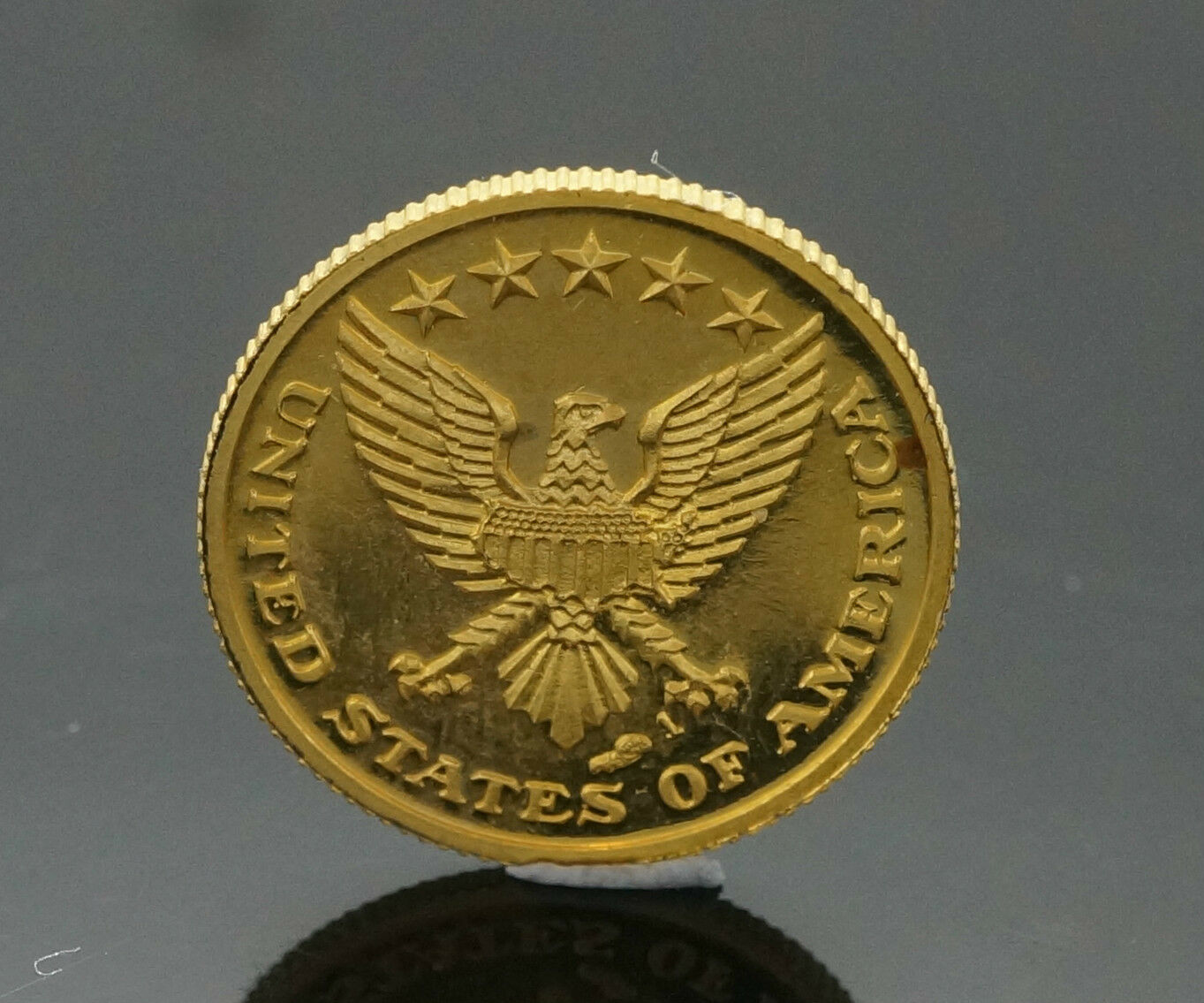 24carat Gold John F Kennedy Commemorative Coin In