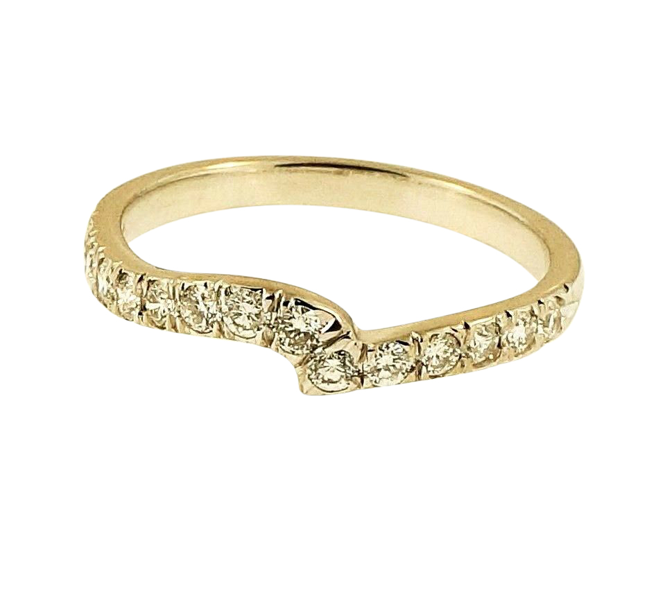 18carat White Gold 0 33ct Fancy Diamond Eternity Ring