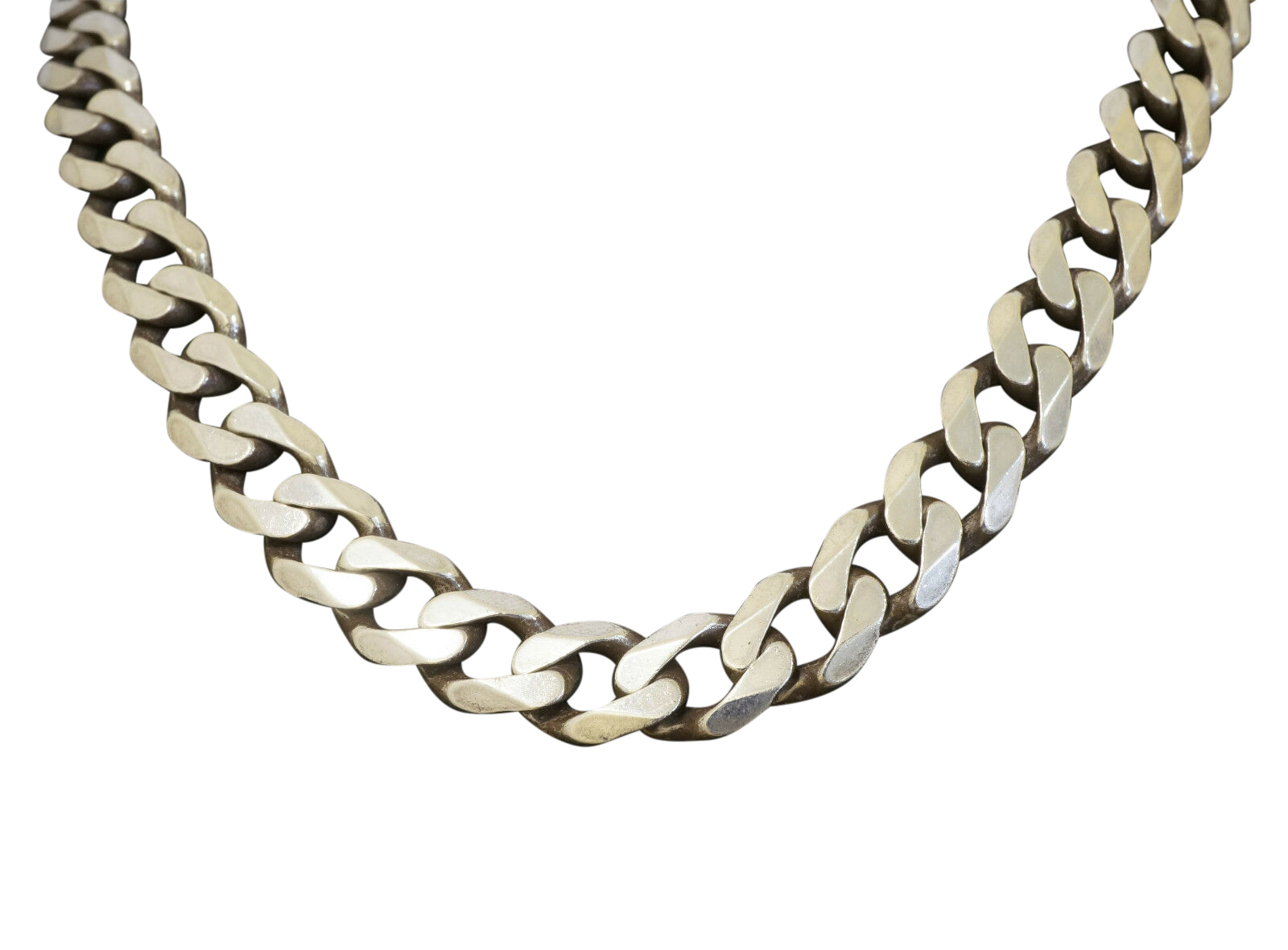Sterling Silver 20 Quot Curb Link Chain Necklace 9mm Width